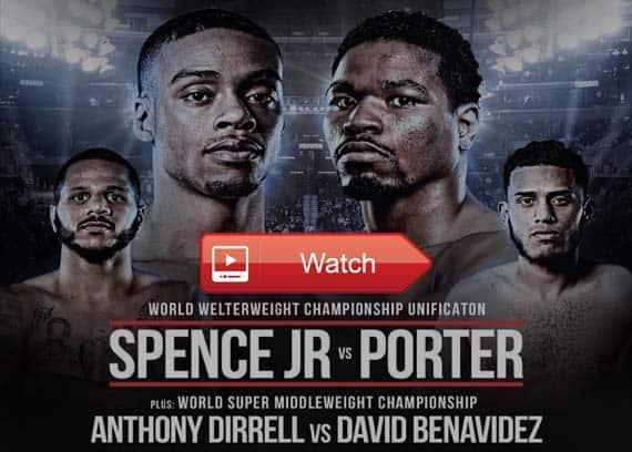 Spence Jr vs Porter live stream reddit