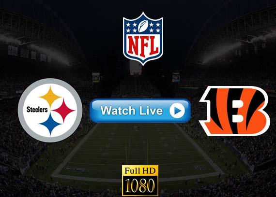 Steelers vs Bengals live streaming reddit