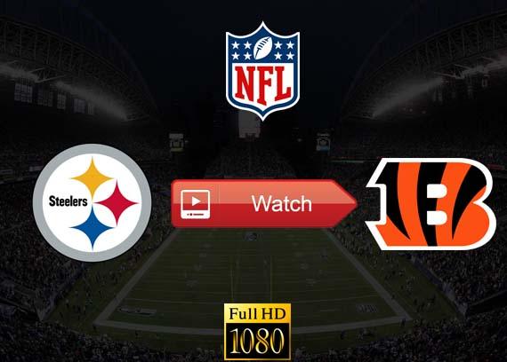 Steelers vs Bengals live stream reddit
