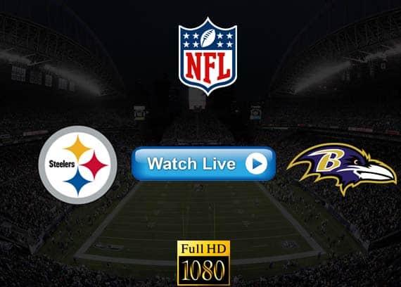 Steelers vs Ravens live streaming reddit