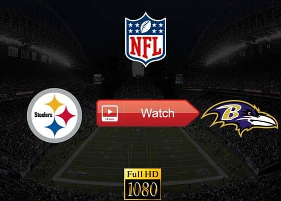 Steelers vs Ravens live stream reddit