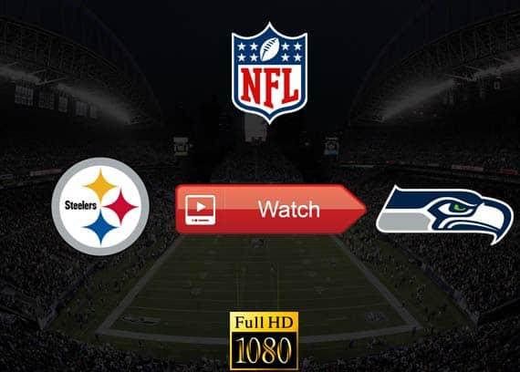 Steelers vs Seahawks live stream reddit