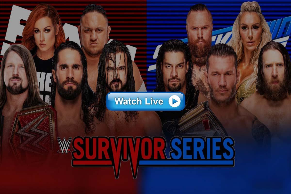 Survivor Series live streaming Reddit