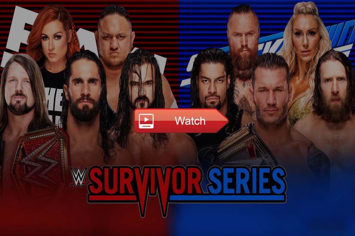 Survivor Series live stream Reddit