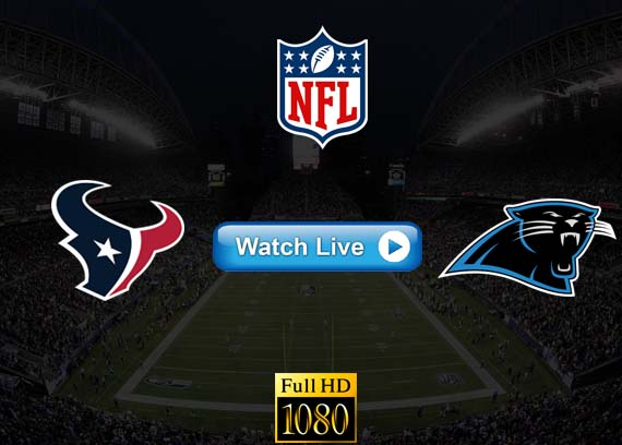 Texans vs Panthers live streaming reddit