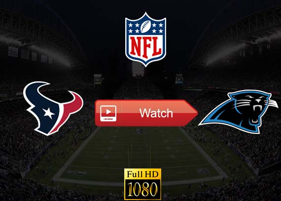 Texans vs Panthers live stream reddit