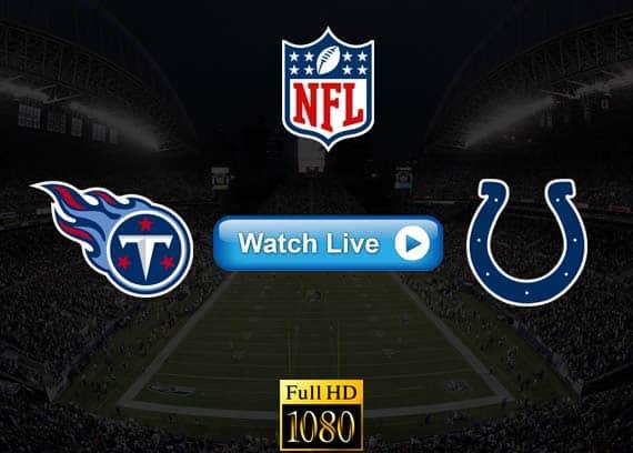 Titans vs Colts live streaming reddit