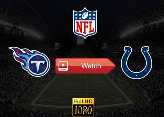 Titans vs Colts live stream reddit