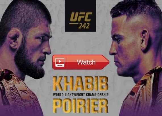 UFC 242 live stream reddit online