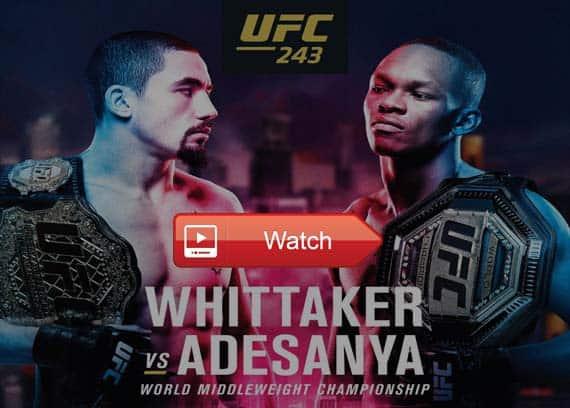 UFC 243 live streaming reddit