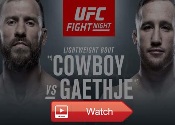 UFC Fight Night 158 live stream reddit