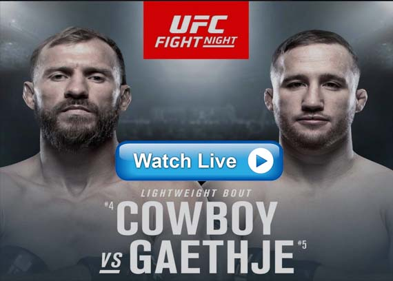 UFC Fight Night 158 live streaming reddit