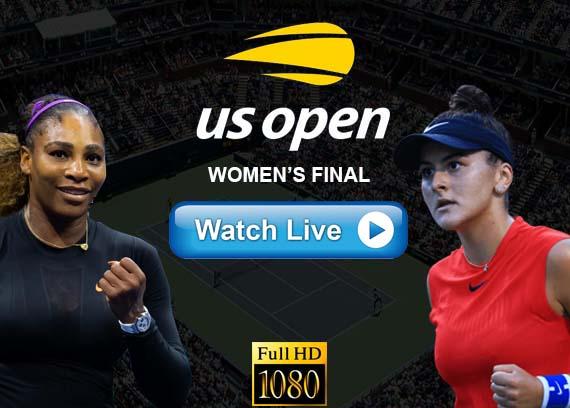 Serena Williams vs Bianca Andreescu live streaming reddit