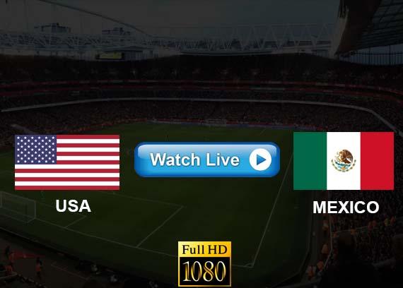 USA vs Mexico live streaming Reddit