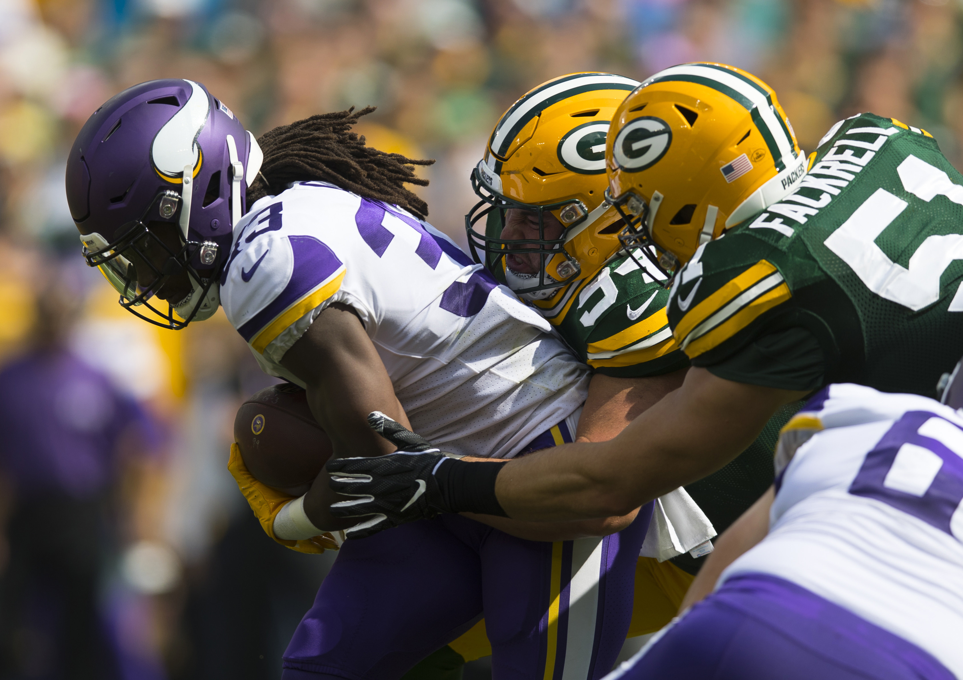 Packers Defense Eager to Prove They Can Contain Cook, Vikings Ground Game
