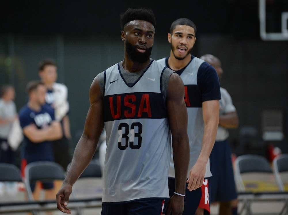 Your Morning Dump... Where Team USA lost, but the Celtics win long term