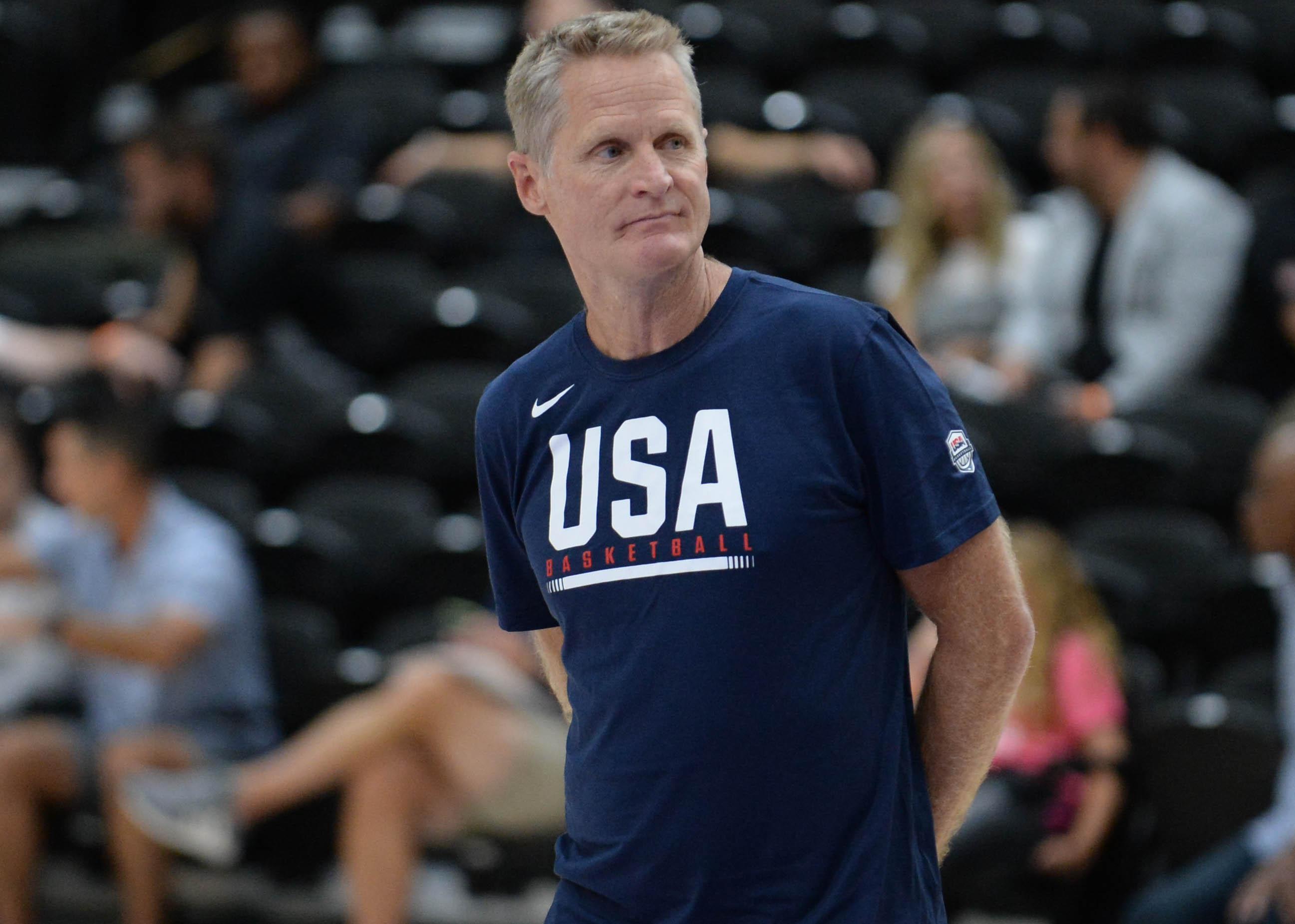 Steve Kerr addresses Kevin Durant's criticism of motion offense