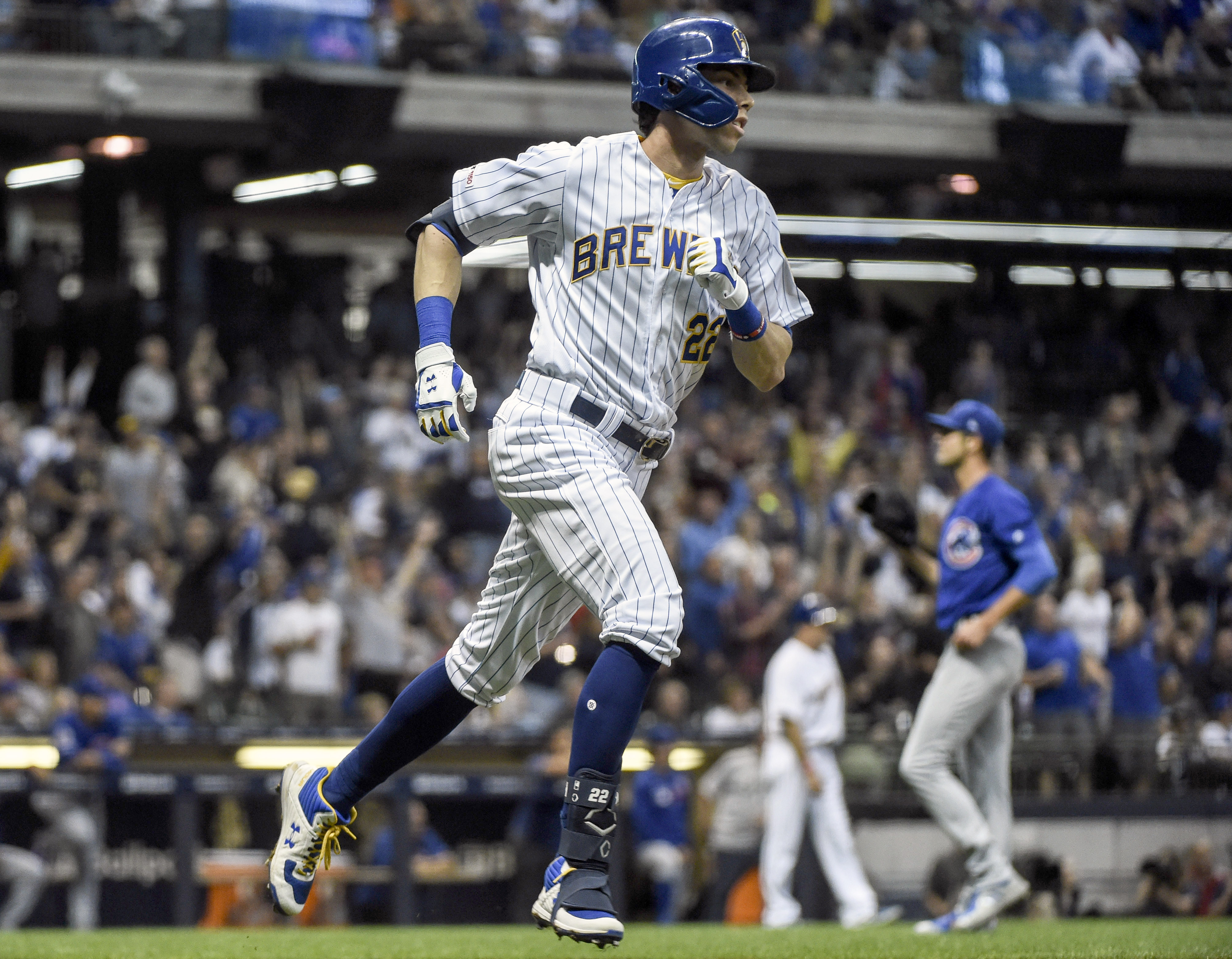 Christian Yelich's on-field growth is every MLB hitting coach's dream