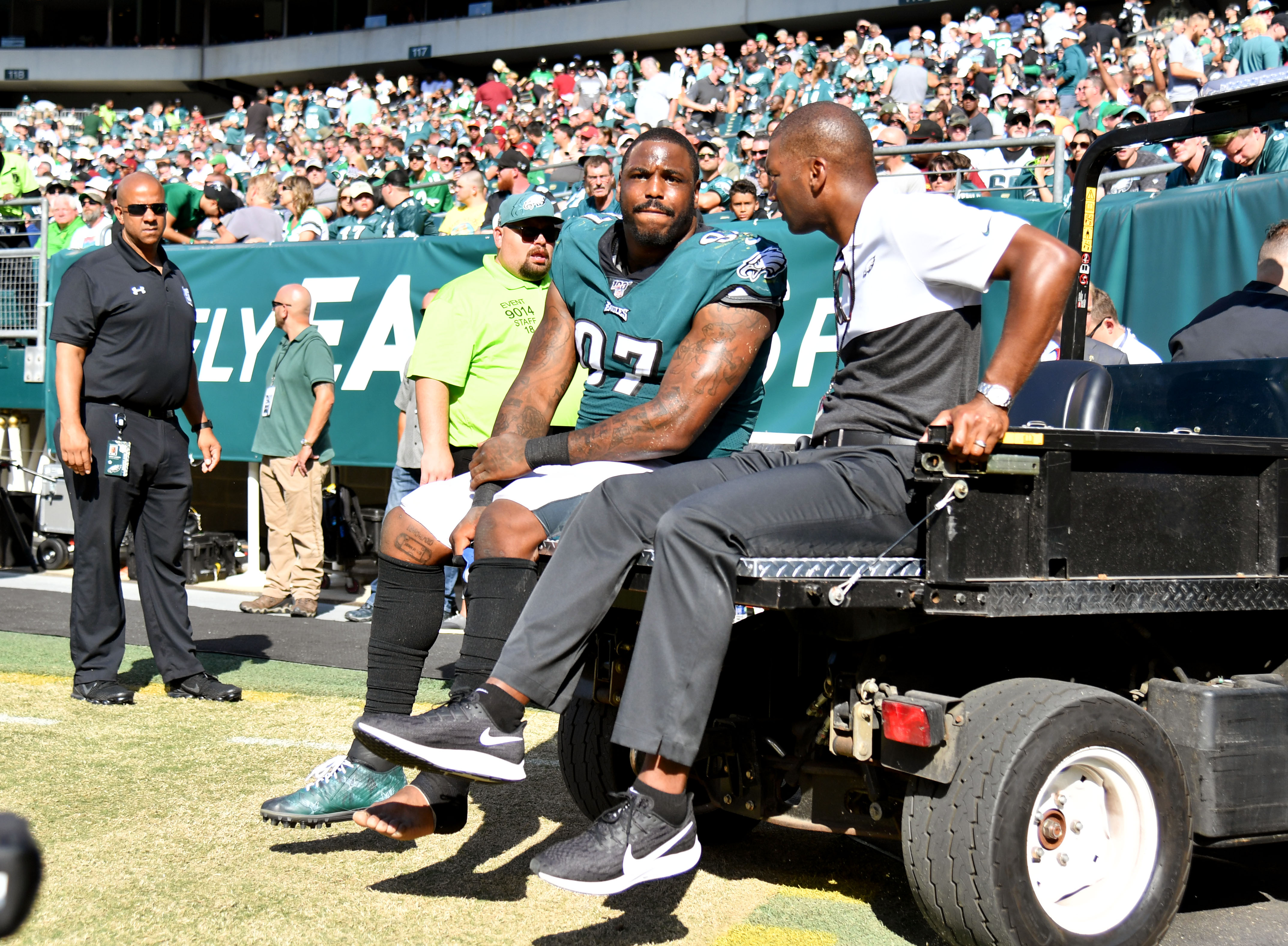 On facing medical challenges for fans and Eagles alike