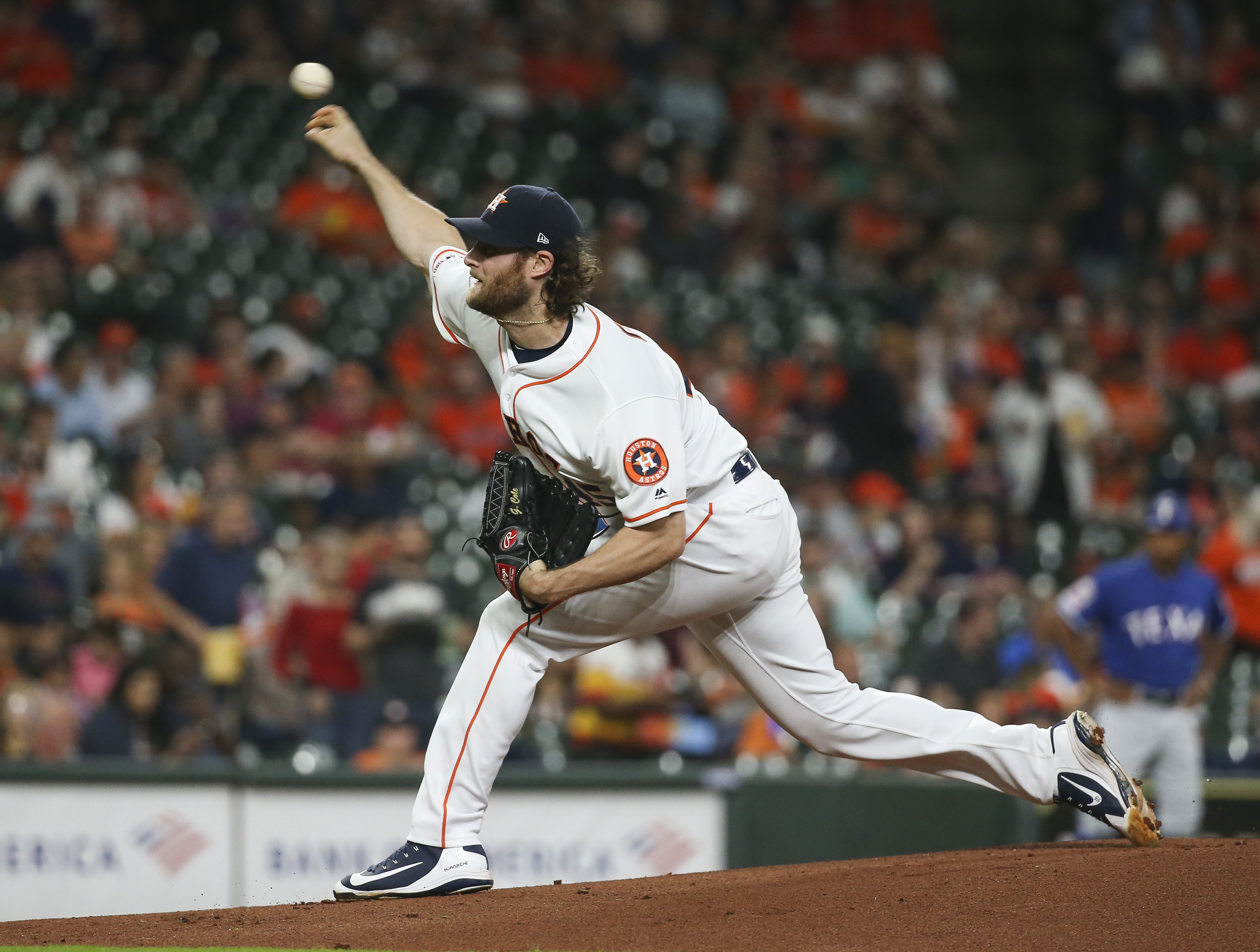Gerrit Cole has been virtually unstoppable for the Astros