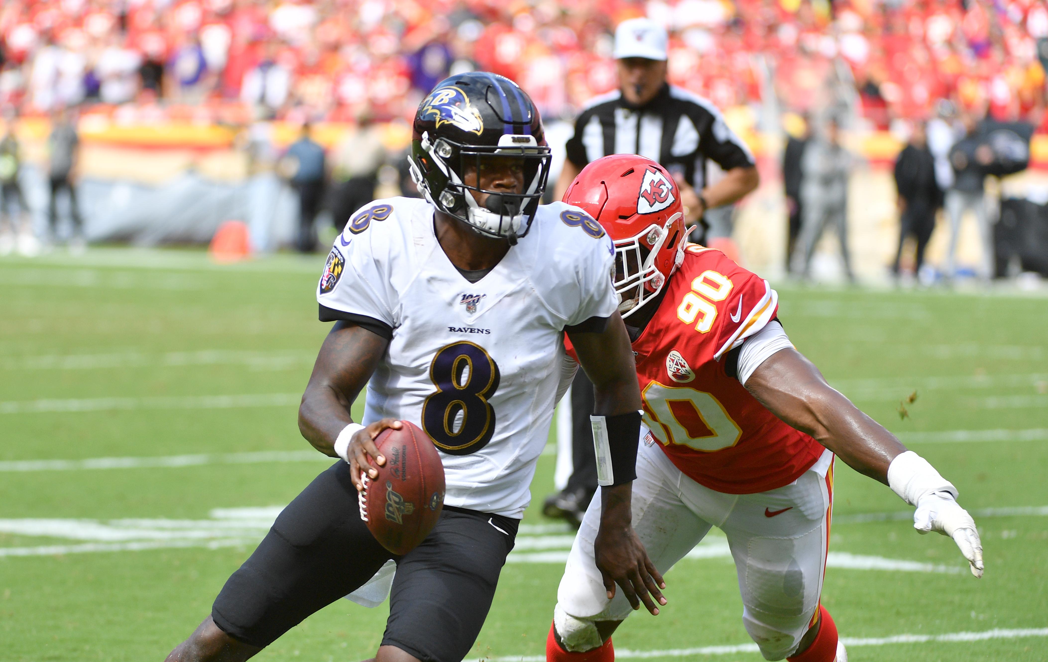 Ravens stun Kansas City behind Lamar's heroics, 36-35
