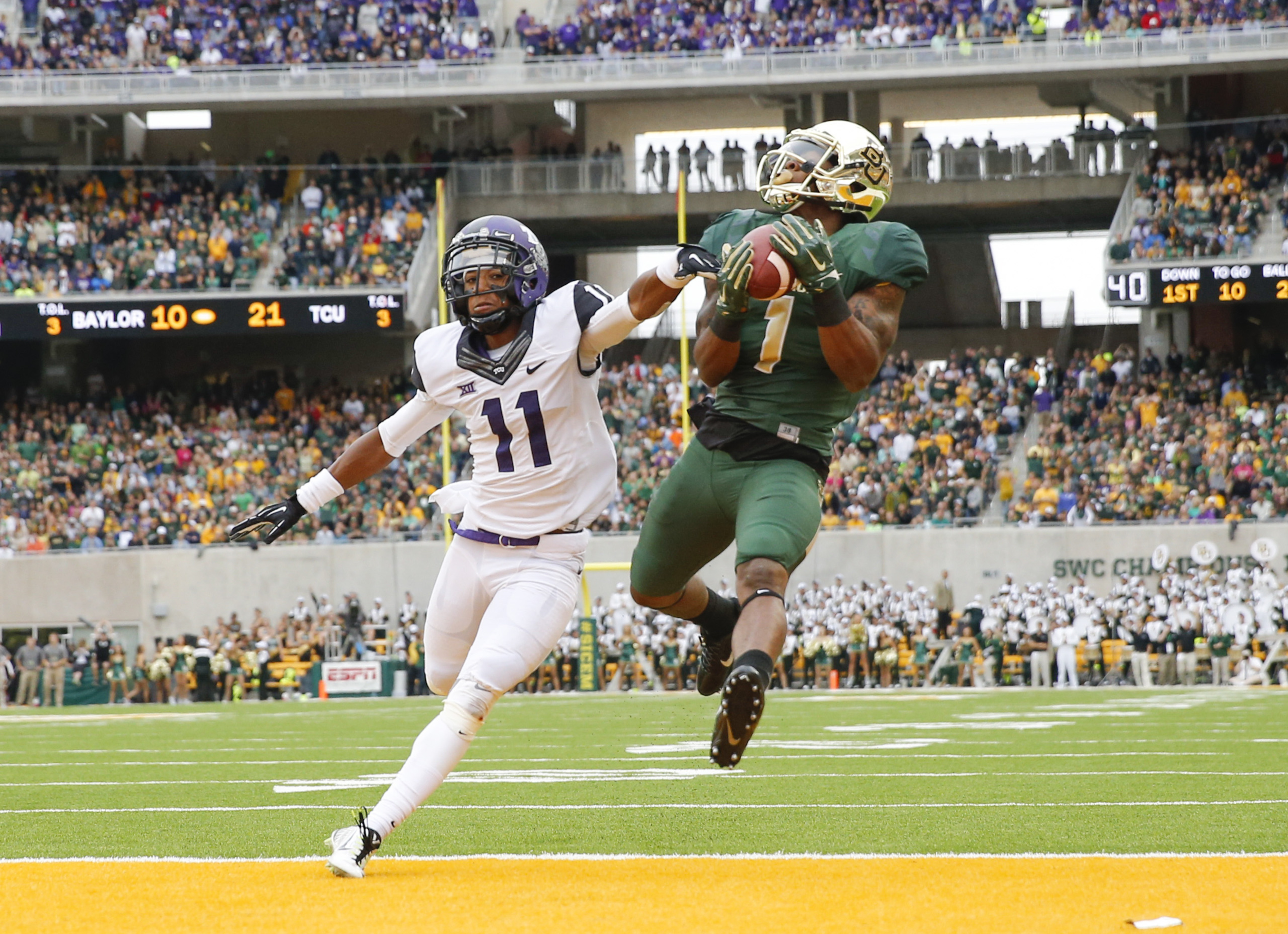5-Year Anniversary: Baylor Scores Game's Final 24 Points to Slip Past TCU in Top-10 Shootout