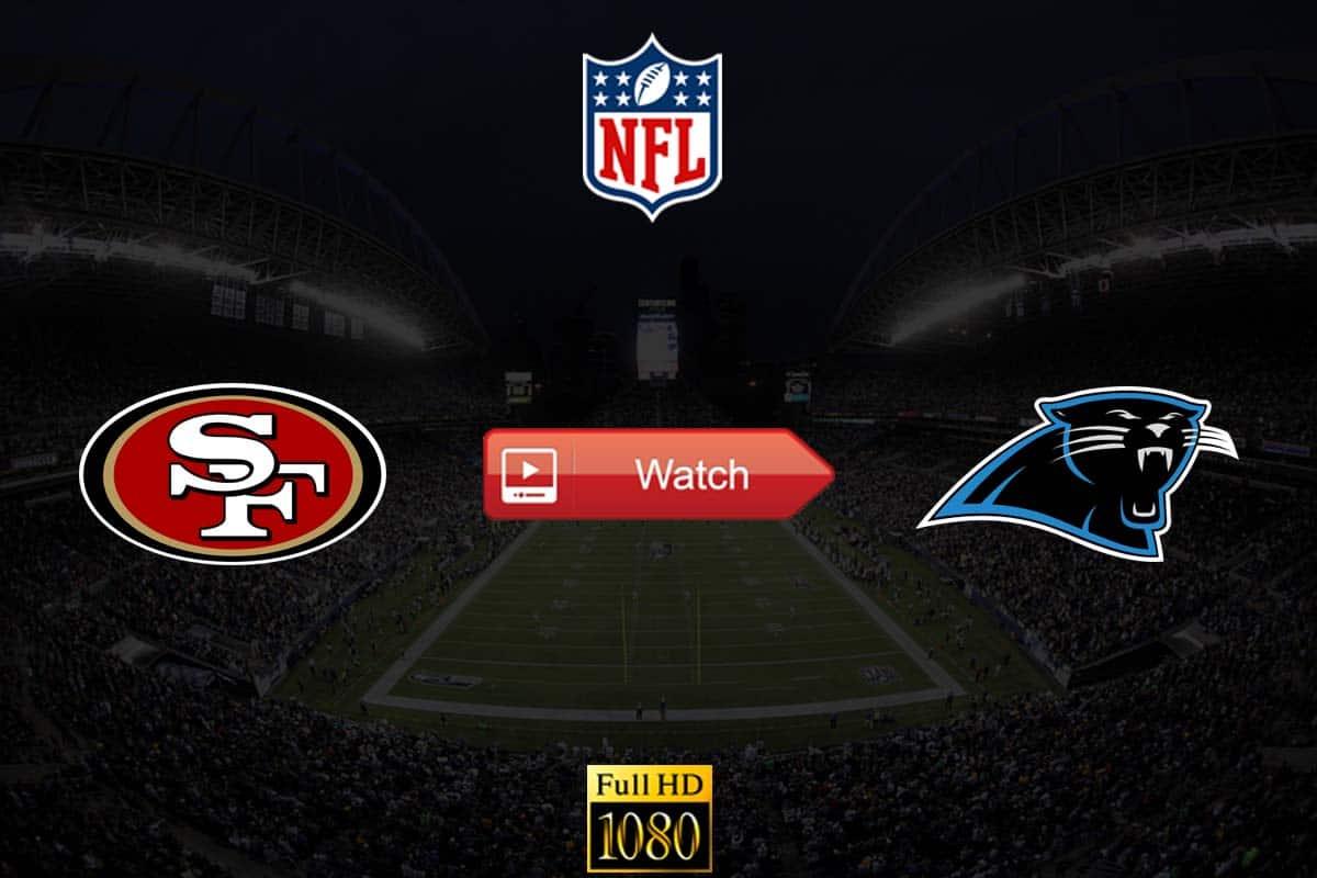 49ers vs Panthers live stream reddit