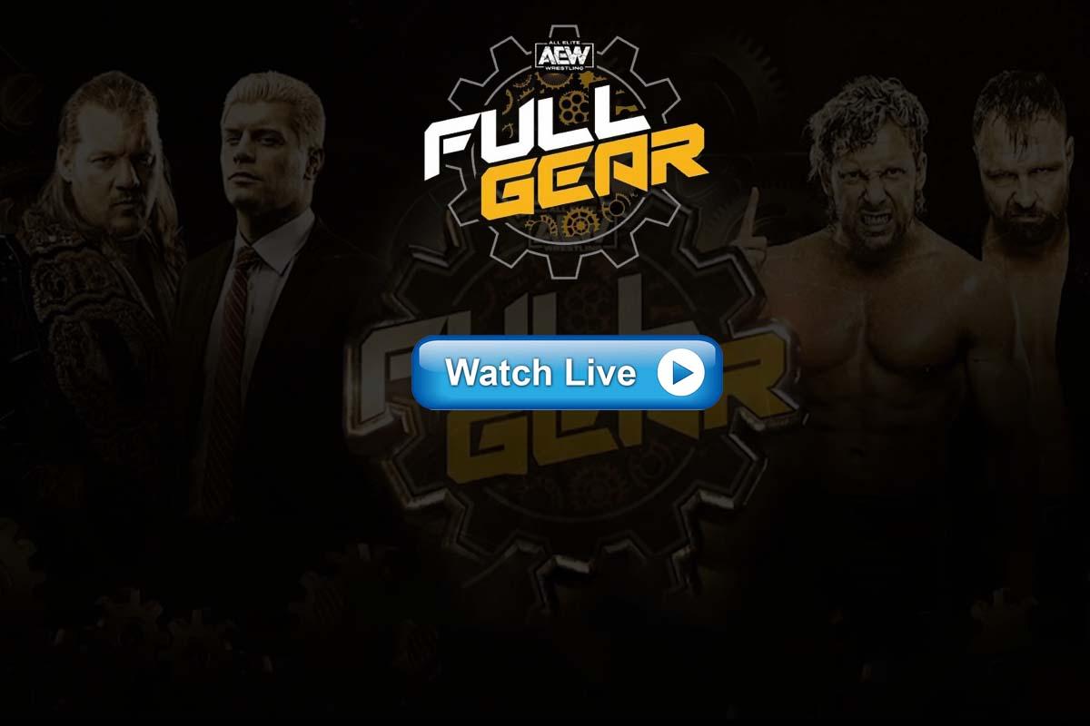AEW Full Gear live streaming reddit