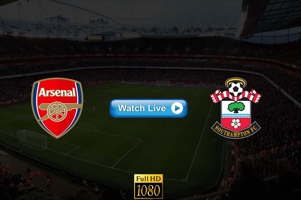Arsenal vs Southampton live streaming reddit