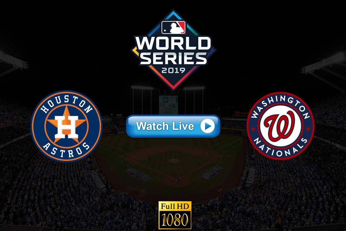 Astros vs Nationals live streaming reddit
