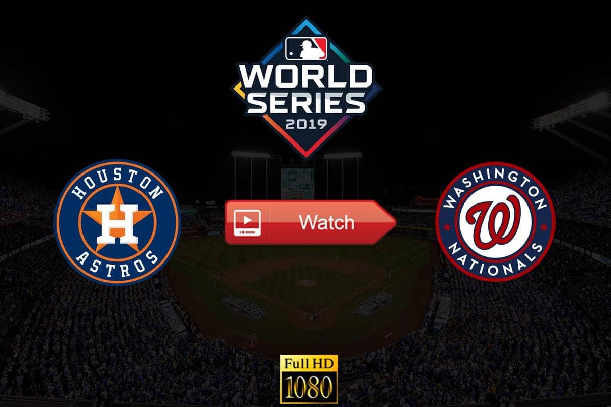 Astros vs Nationals live stream reddit