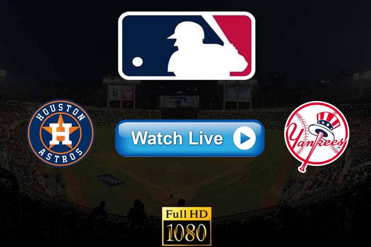 Astros vs Yankees live streaming reddit