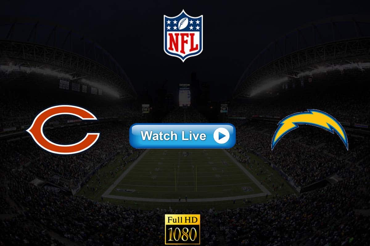 Bears vs Chargers live streaming reddit