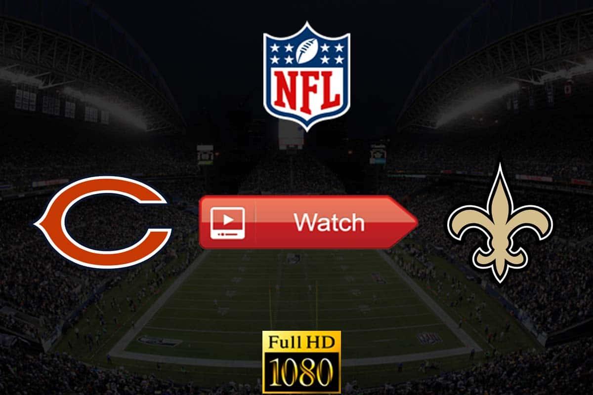 Bears vs Saints live stream reddit