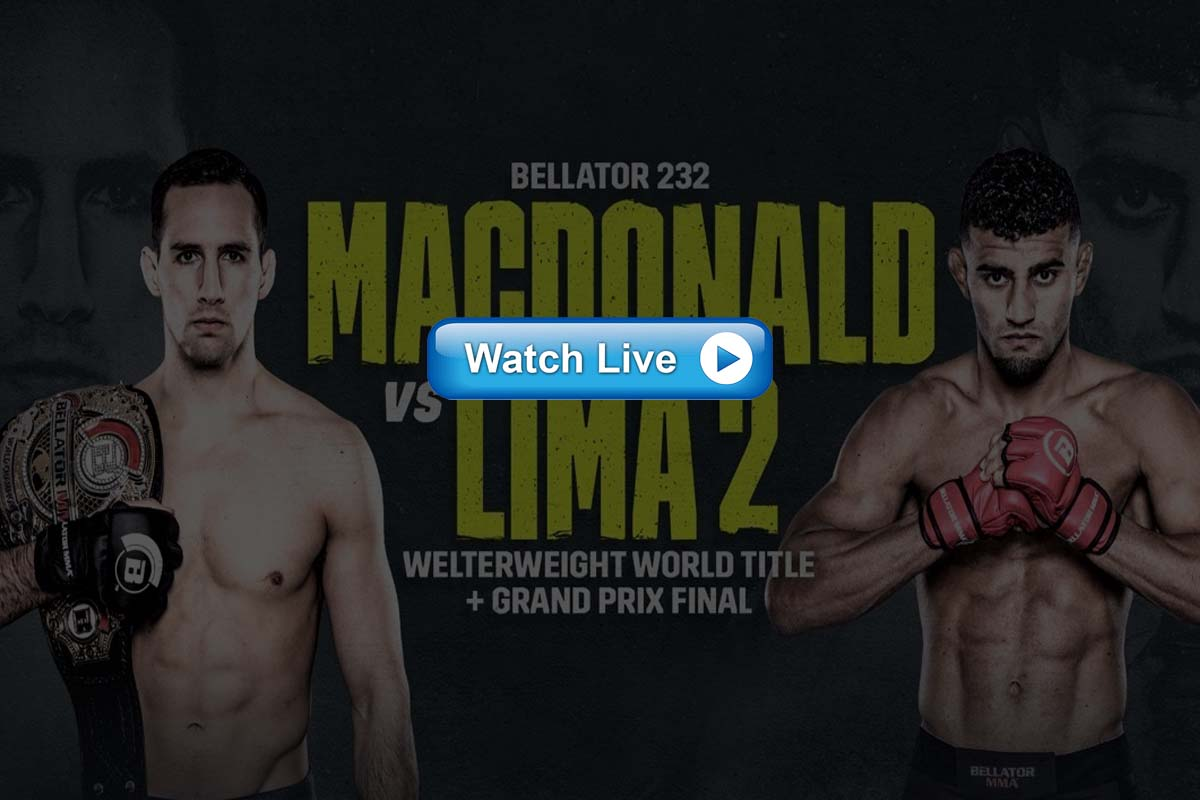 Bellator 232 live streaming reddit