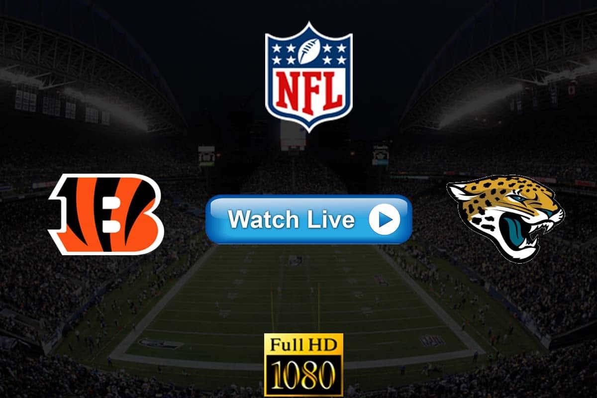 Bengals vs Jaguars live streaming reddit