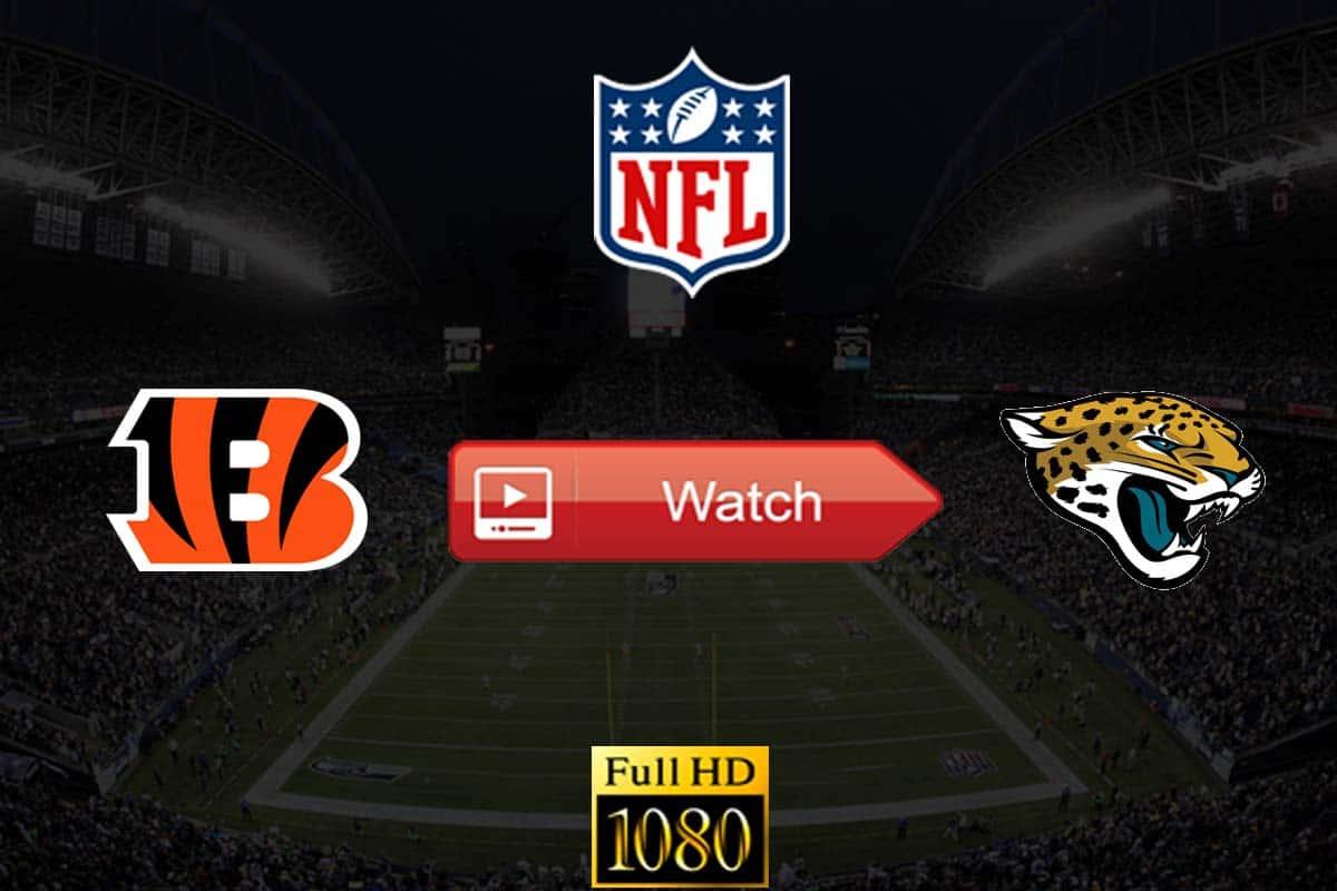 Bengals vs Jaguars live stream reddit