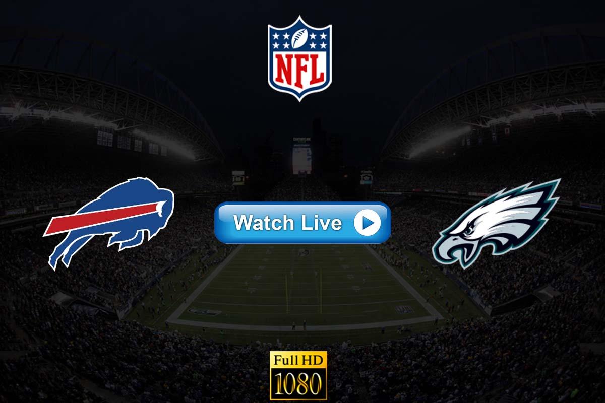 Bills vs Eagles live streaming reddit