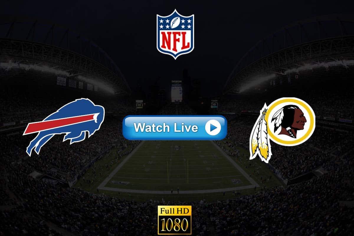 Bills vs Redskins live streaming reddit