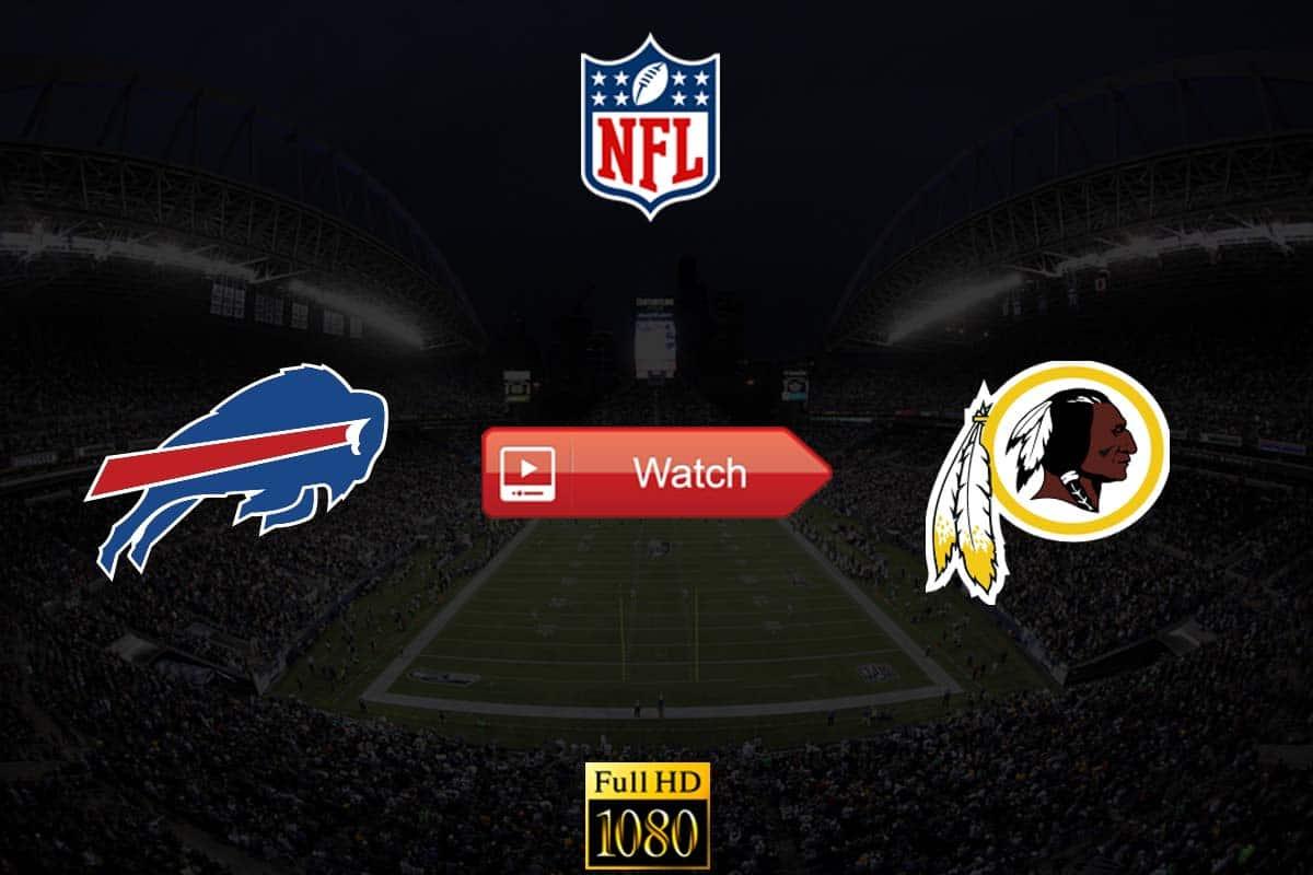Bills vs Redskins live stream reddit
