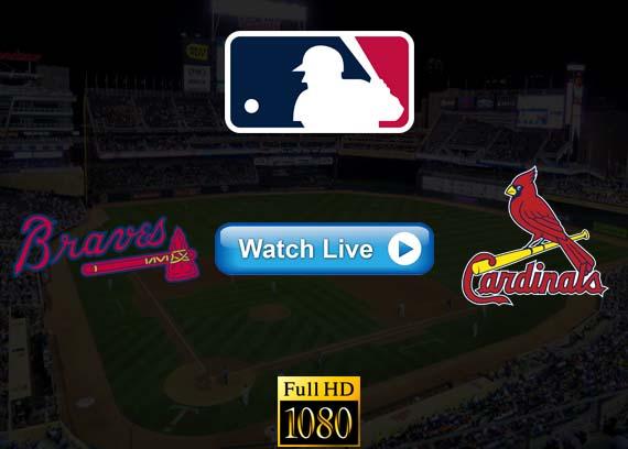Braves vs Cardinals live streaming reddit