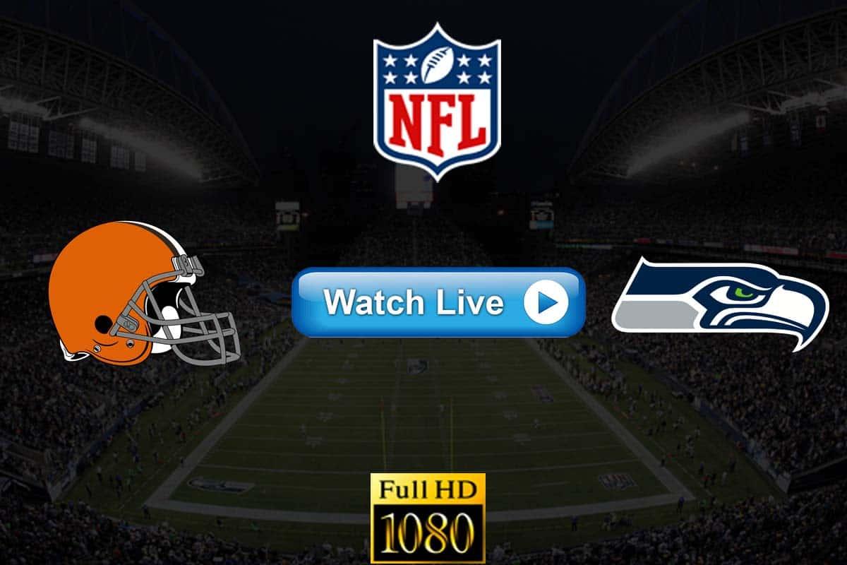 Browns vs Seahawks live streaming reddit