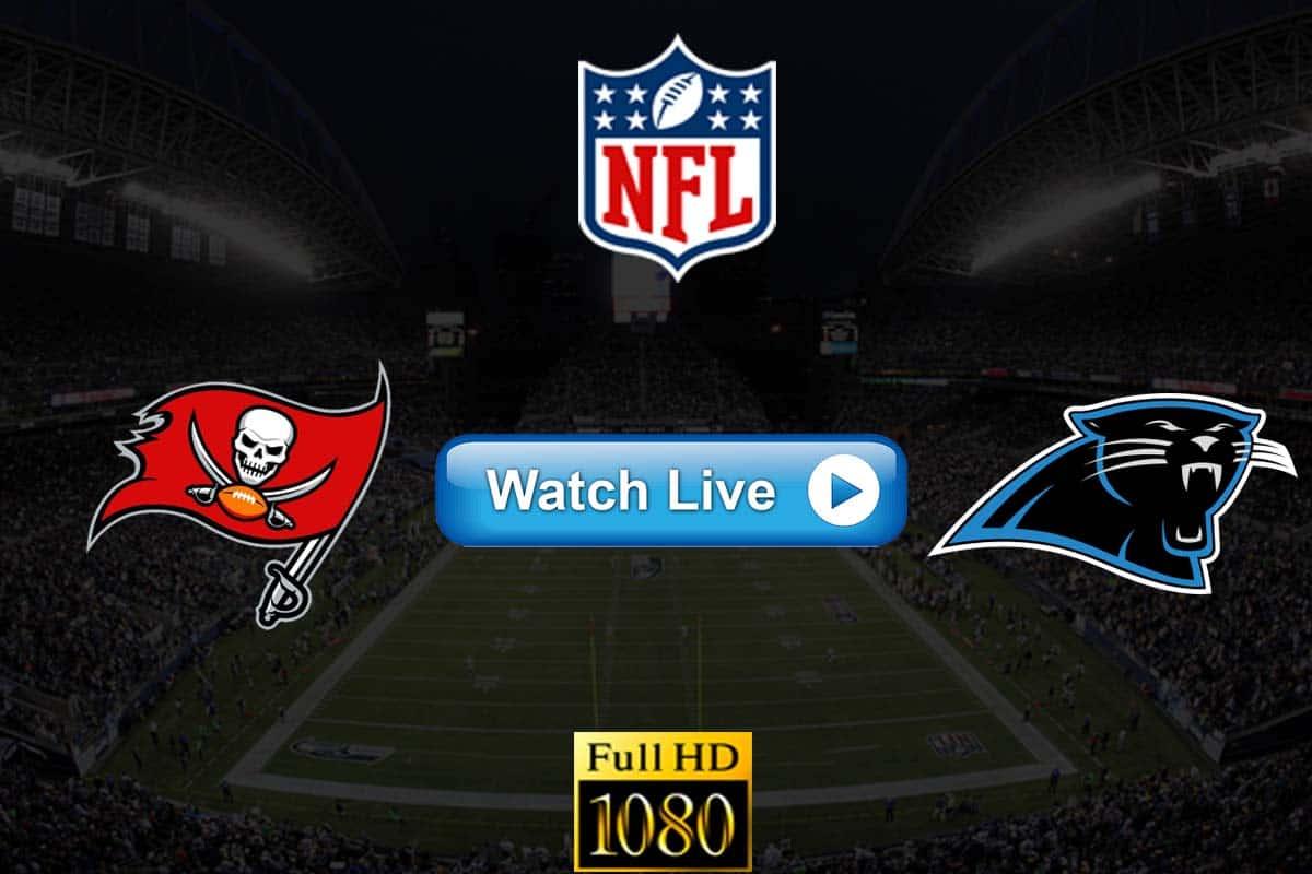 Buccaneers vs Panthers live streaming reddit