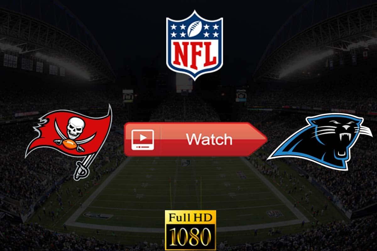 Buccaneers vs Panthers live stream reddit