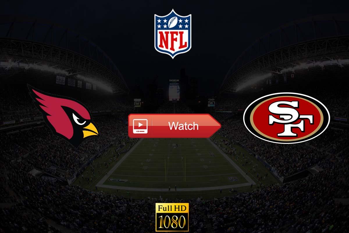 Cardinals vs 49ers live stream reddit
