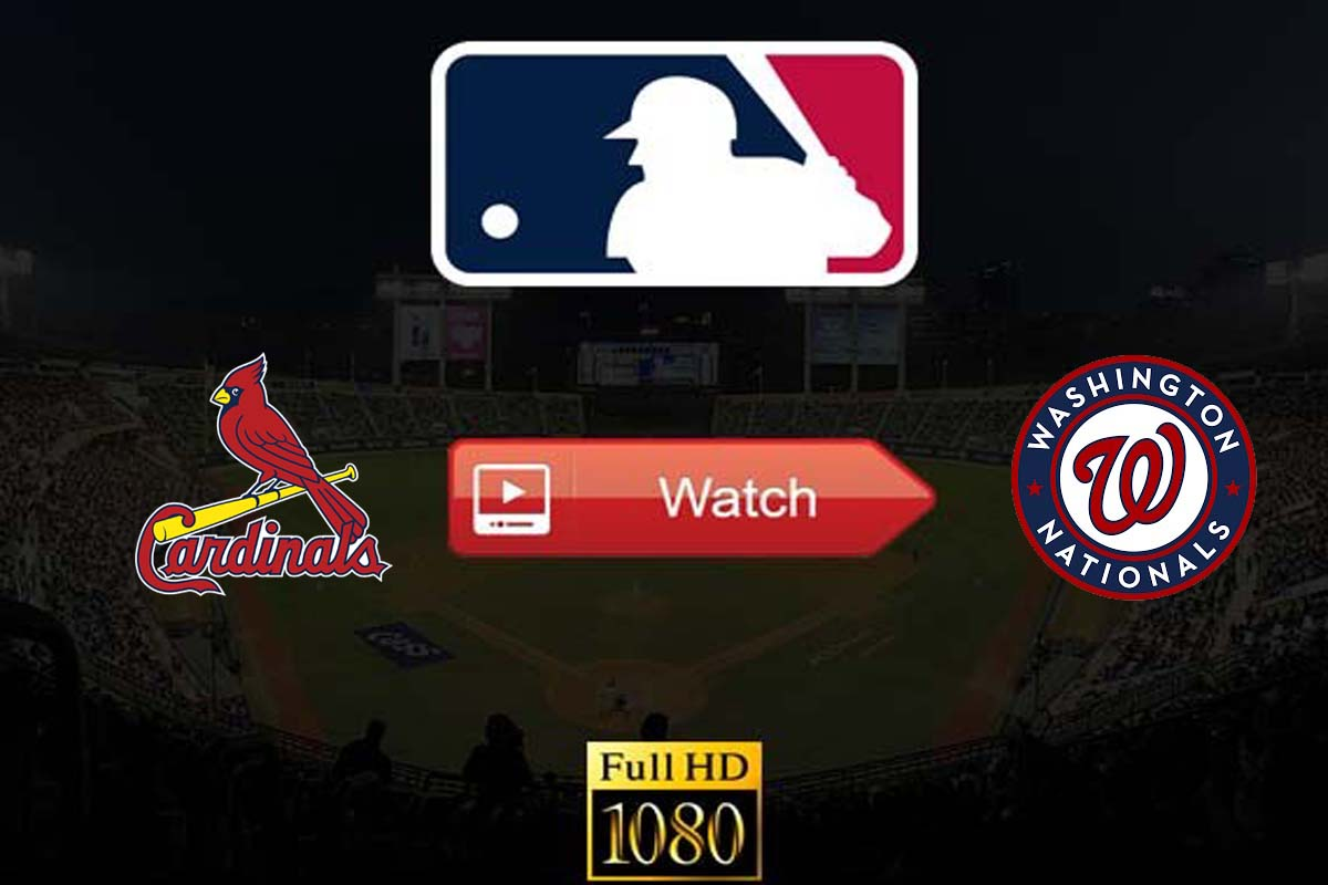 Cardinals vs Nationals live stream reddit