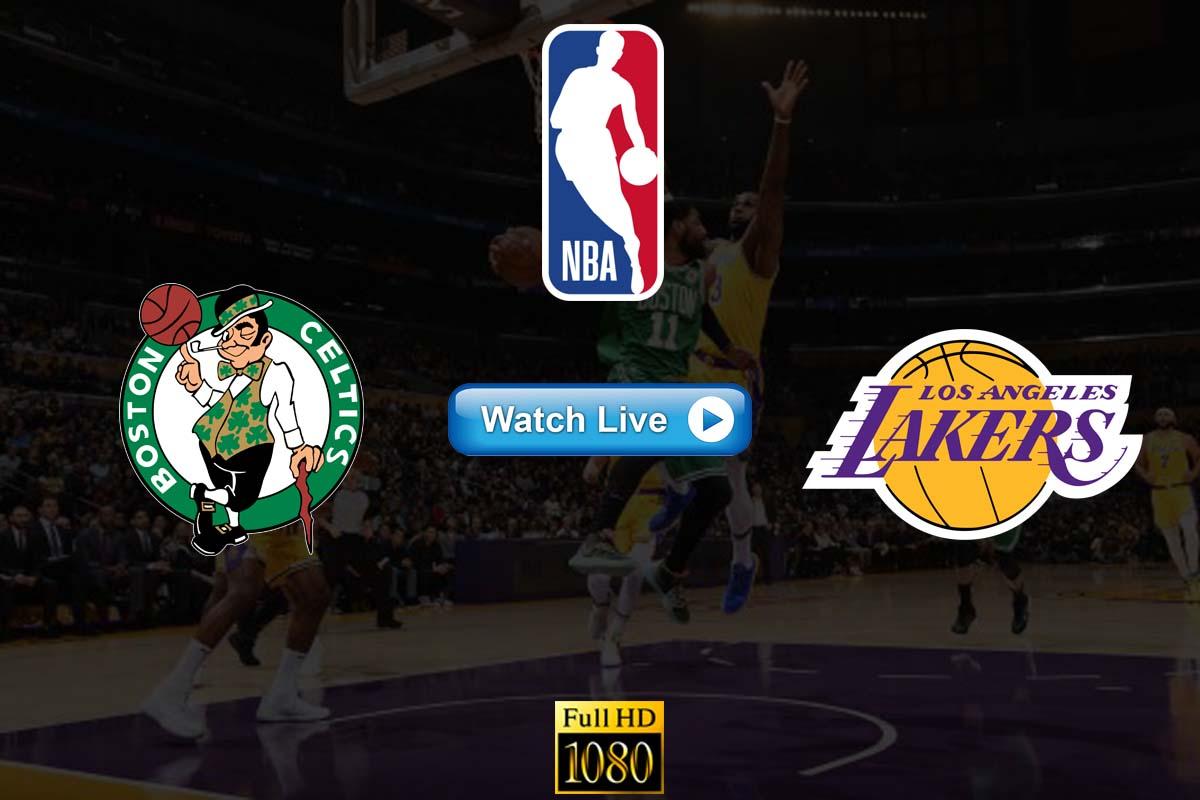 Celtics vs Lakers live streaming Reddit
