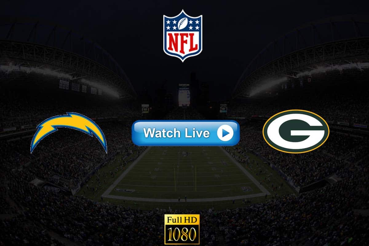 Chargers vs Packers live streaming reddit
