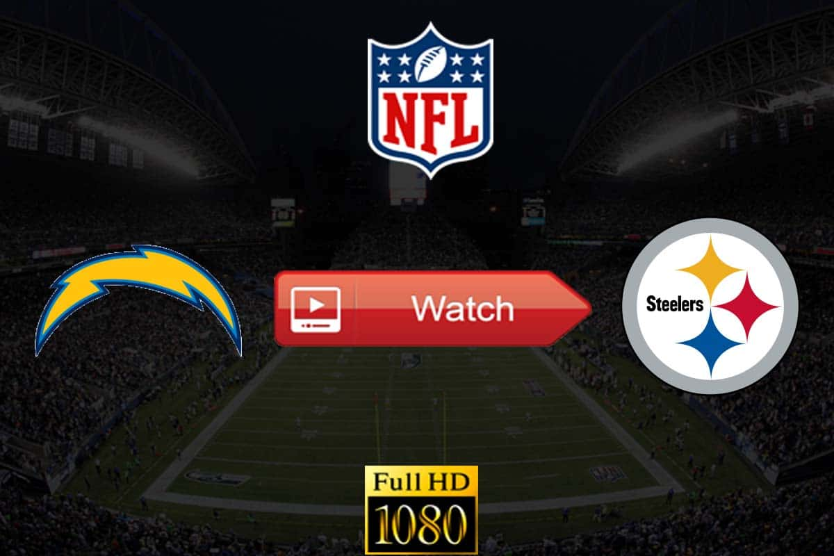 Chargers vs Steelers live stream reddit