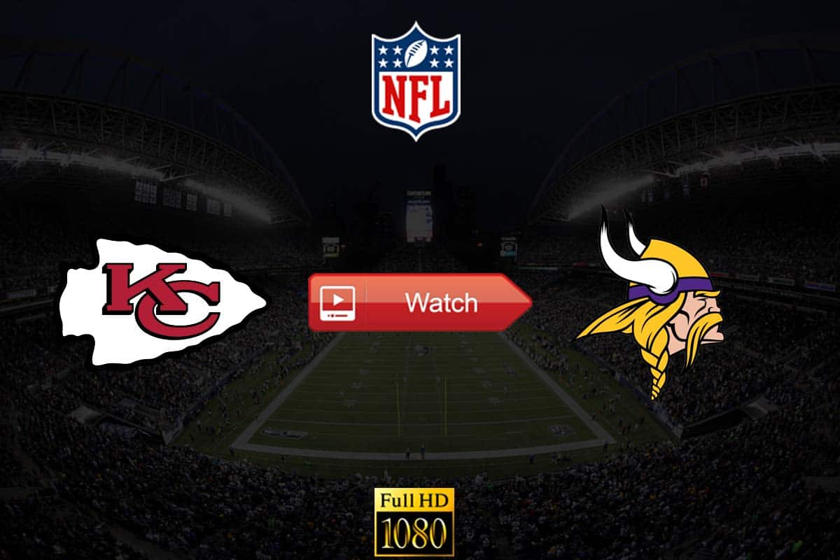 Chiefs vs Vikings live stream reddit